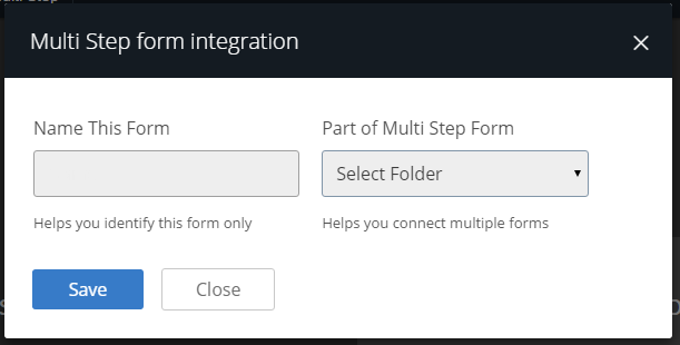 multi step integration