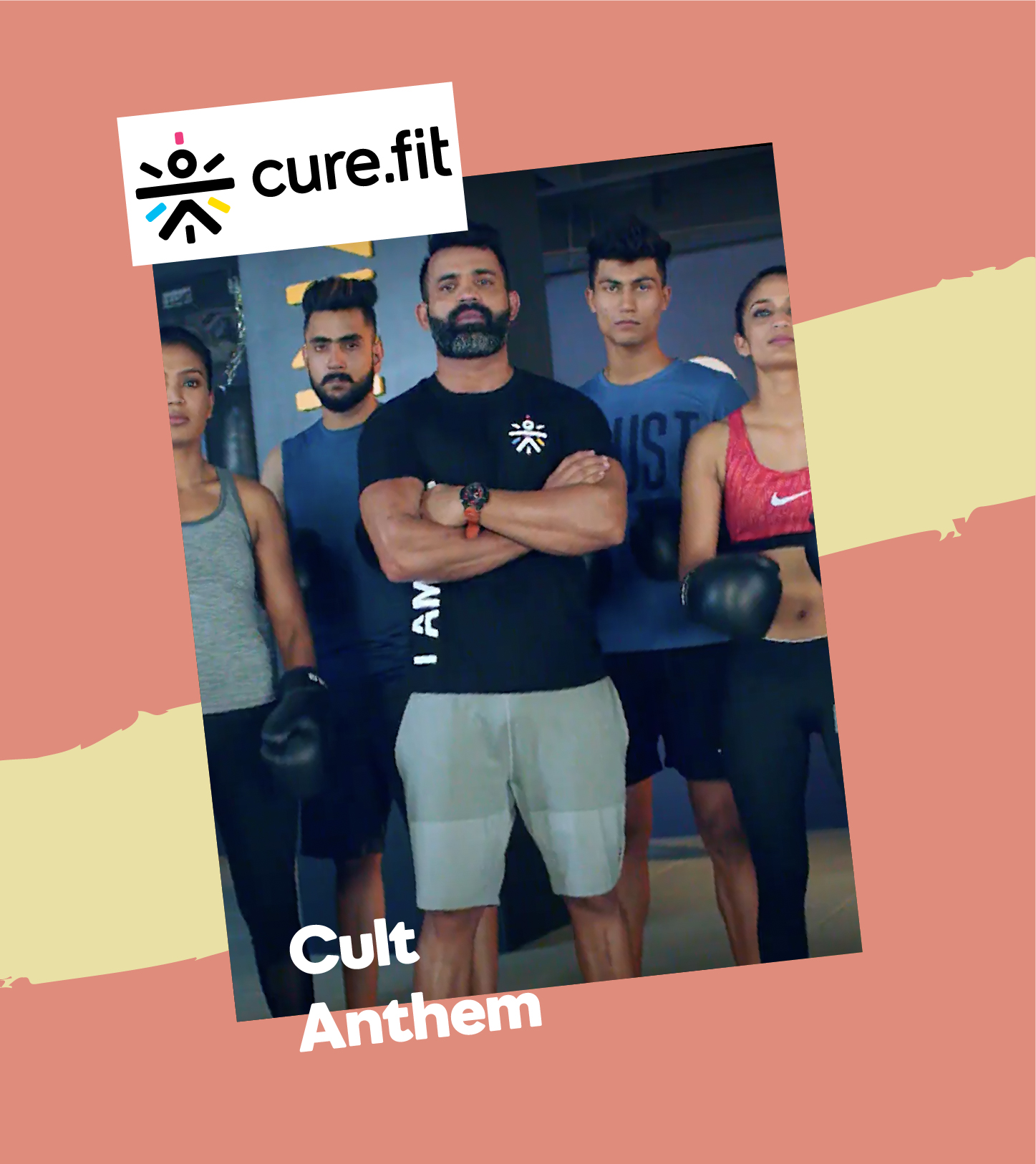 Curefit Cult Anthem